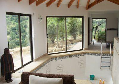 Interior Jacussi / Casa Lomatuerta - Curacavi