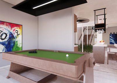 Trabajo render 3d interior casa habitacional por Roger Torres García.