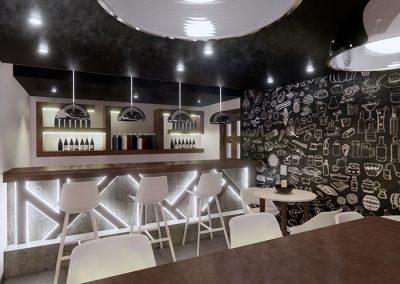 Trabajo render 3d interior resto por Roger Torres García.