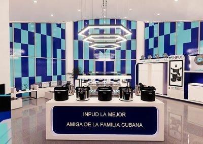 Trabajo render 3d stands publicitario por Roger Torres García.