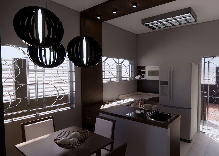Trabajo render 3d interior casa por Roger Torres García.